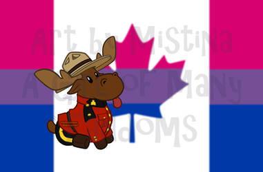Mountie Moose: PRIDE REMIX! (#02 Bisexual)