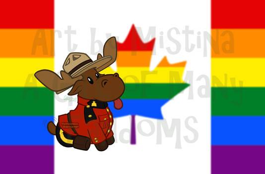 Mountie Moose: PRIDE REMIX! (#01 Homosexual)