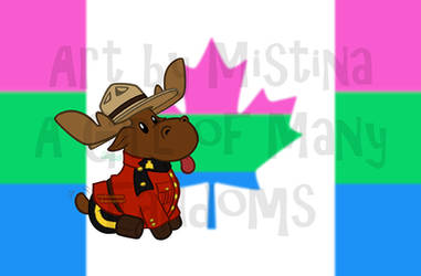 Mountie Moose: PRIDE REMIX! (#09 Polysexual)