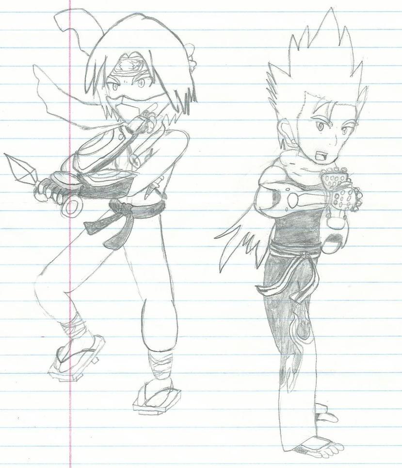 Tekken fan characters by BlakeandAlex12