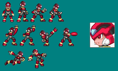 Omegaman's new mini Sprite sheet by BlakeandAlex12