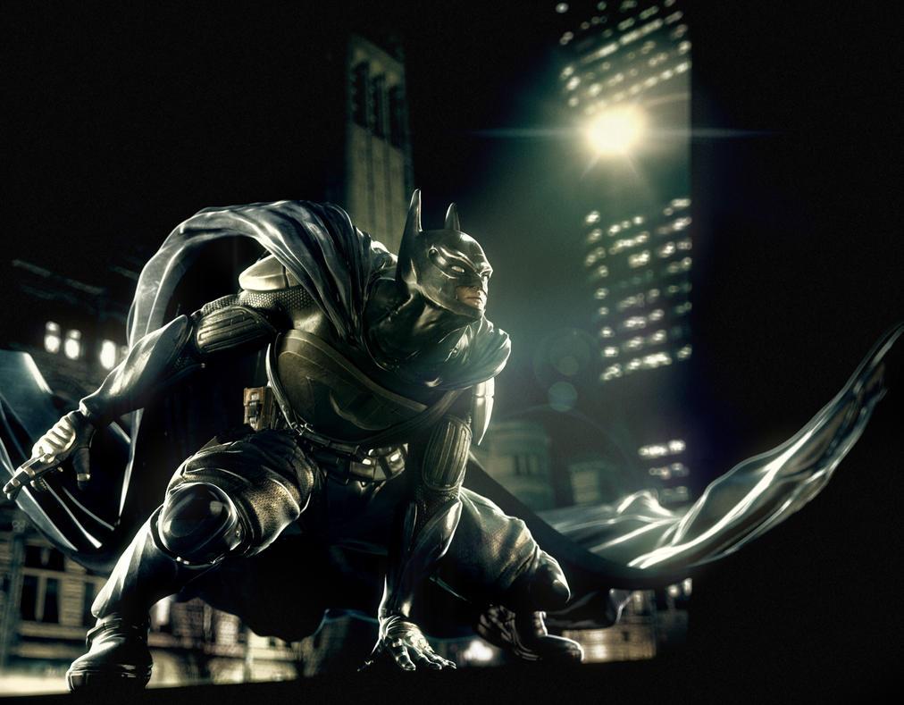 BATMAN - redesign by aridiel