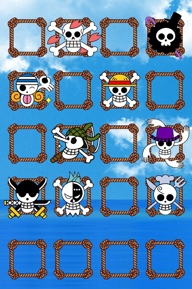 One Piece The Straw Hats Jolly Rogers Wallpaper By