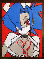 Valentine painting (100th Deviation) by TheScarecrowOfNorway