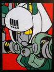 Robo-Fortune painting by TheScarecrowOfNorway