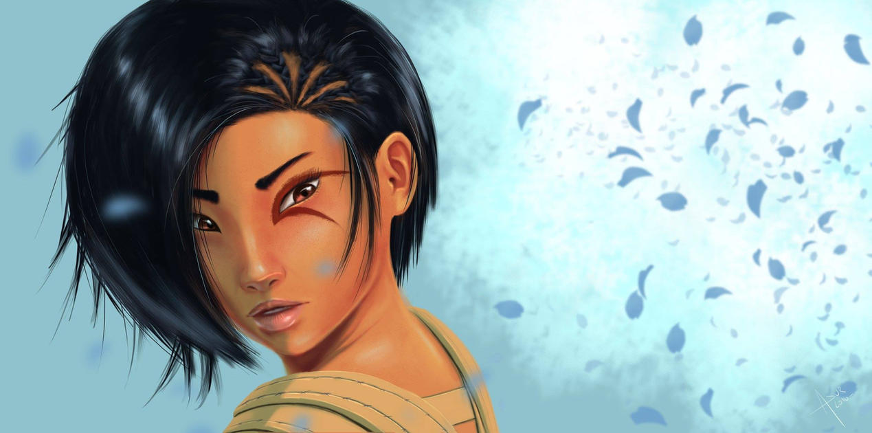 Tribal Girl by Asur-Misoa