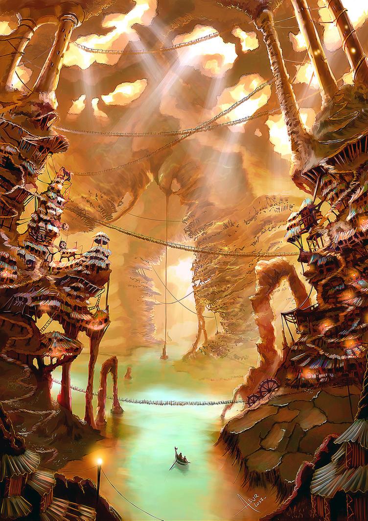 Underground by Asur-Misoa