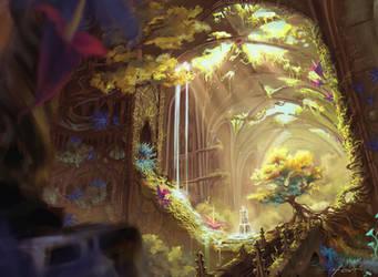 Magic the Gathering Training by Asur-Misoa