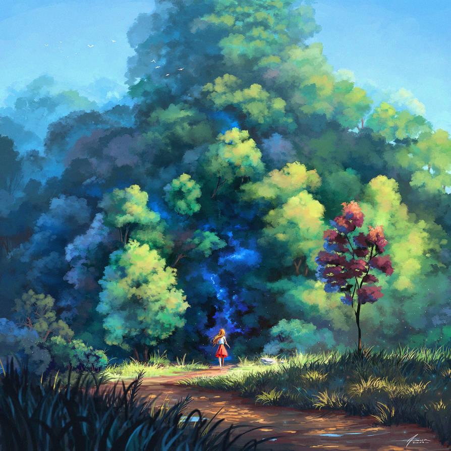 Hidden Paths