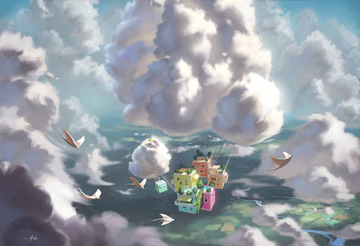Clouds House