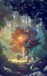 The fairy wish tree