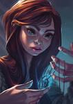 Cara and the fairy stone