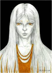 Golden demon by Elainuar
