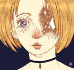 Anime eye color