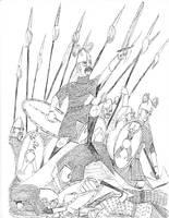Assault of the Host of Redwald by Eidolon1