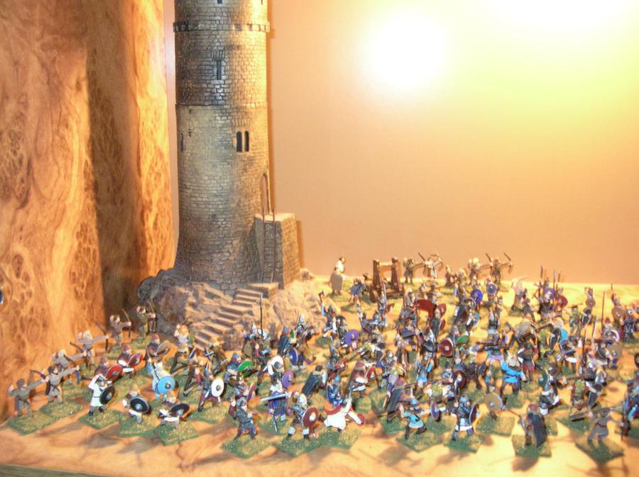 Viking Battle Hollywood Style by Eidolon1