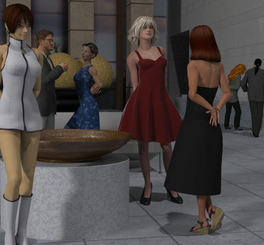 R-World Party Scene by Eidolon1