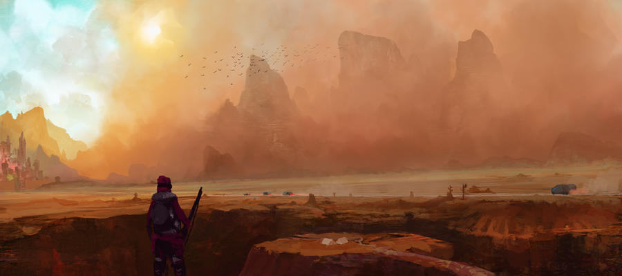 Sandstorm by LennartVerhoeff