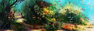 Underwater Derp by LennartVerhoeff