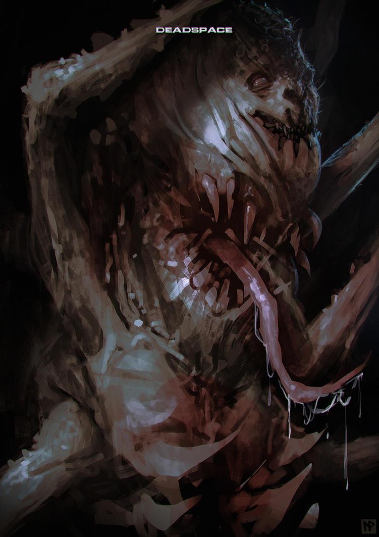 Necromorph by LennartVerhoeff