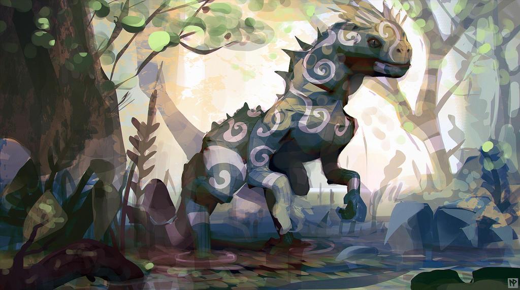 Jungledino by LennartVerhoeff