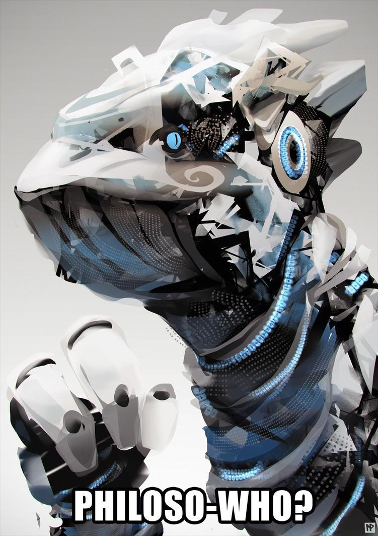 Cyberdino by LennartVerhoeff