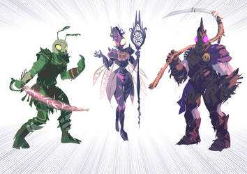 Insect Warriors