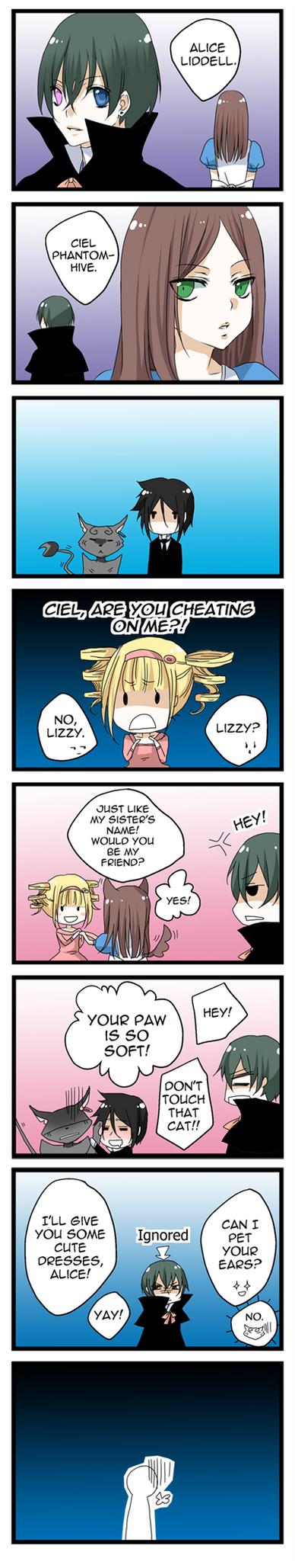 Kuro meets Alice by Fuugen