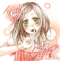 thank you :) by Fuugen