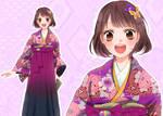 Meiji era schoolgirl