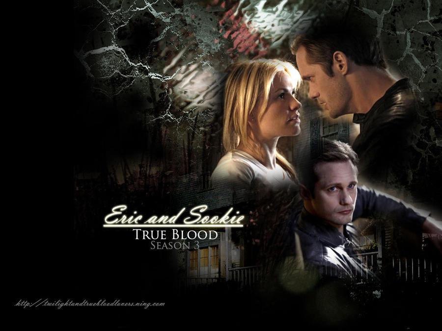true blood eric wallpaper. Eric and Sookie trueblood sea3