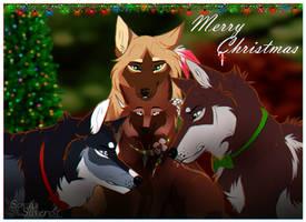 WoLF:. Merry Christmas! by Soyala-Silveryst
