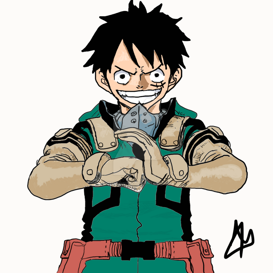 Luffy Bnha by Yahazugiri7