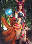 Foxfire Ahri Cosplay - Play time's over~