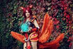 Foxfire Ahri Cosplay - No one will stand in my way