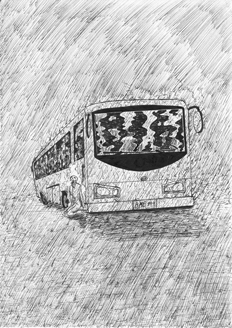 Bajo la lluvia by D-KenSama78