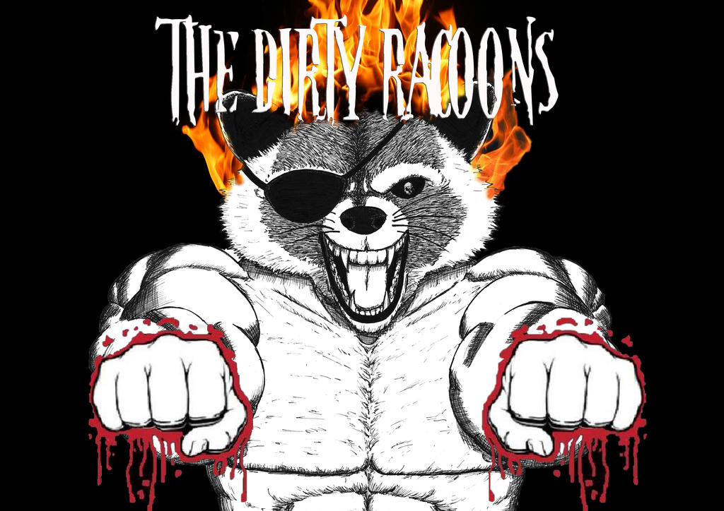 The dirty racoons by D-KenSama78