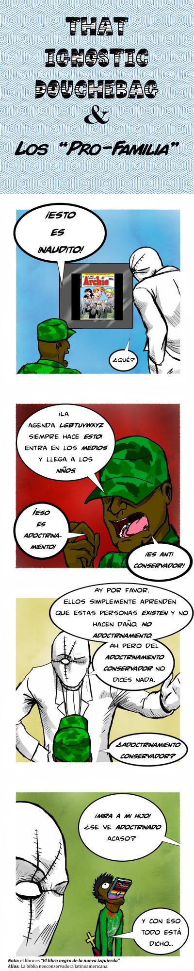 That Ignostic Douchebag y los 'pro-familia' by D-KenSama78