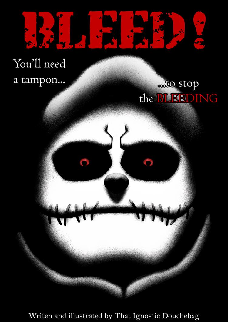 Bleed! comic cover (please read the description) by D-KenSama78