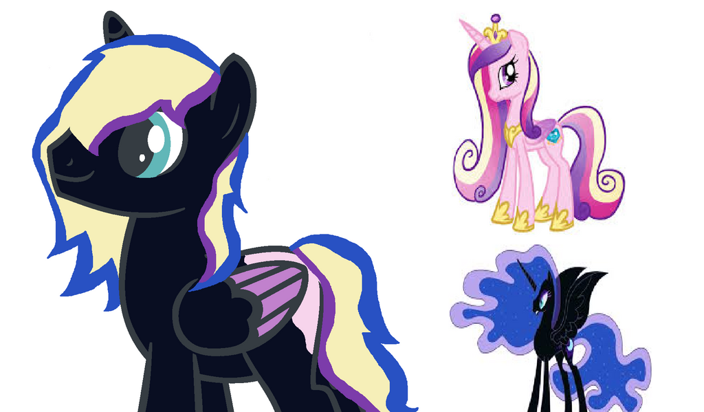 Nightmare moon x princess cadence stallion by queen of fanart on nightmare moon x princess cadence stallion by queen of fanart malvernweather Images