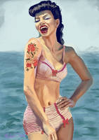 Rockabilly Bikini