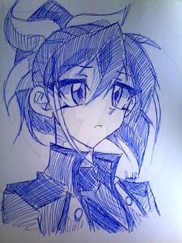 Serena Rough Sketch