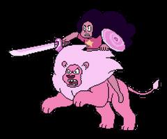 Stevonnie Pixel Art (Steven Universe) by nezz94