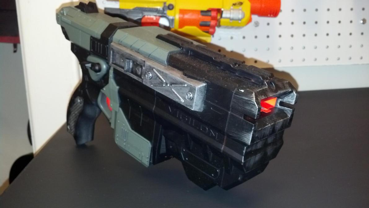 Nerf Vortex Vigilon - Alien Custom by AzraelSavage