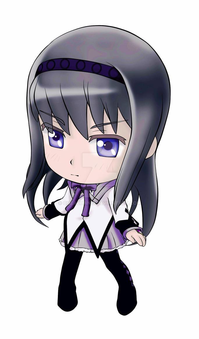 Akemi Homura Nendoroid by cheachan15