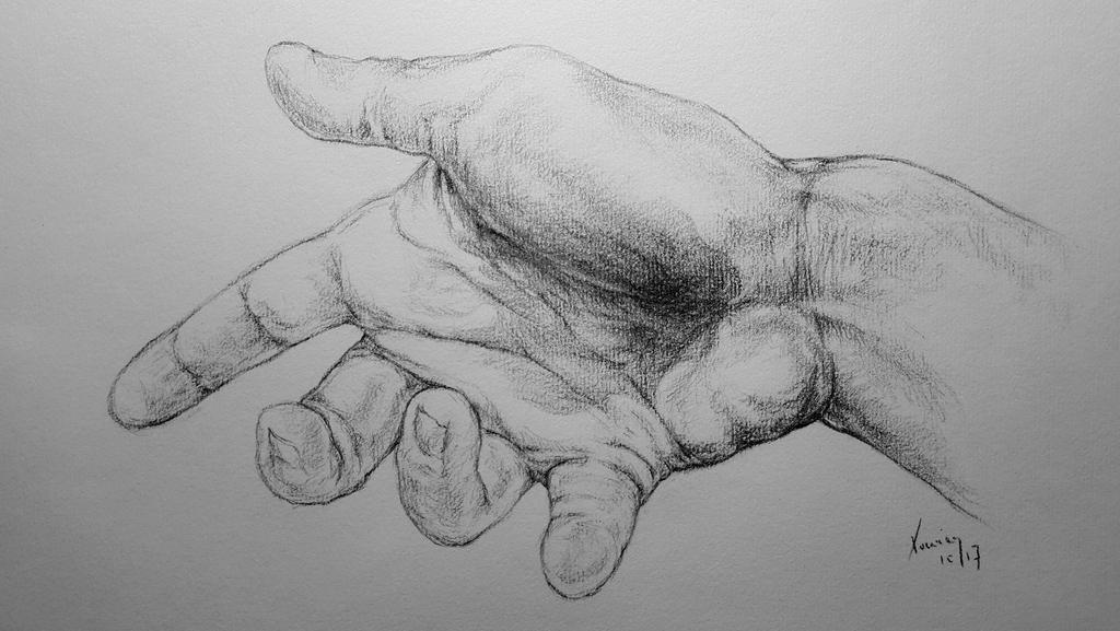Hand 20171026 by XavierDB