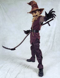 Scarecrow Cosplay Katsu '11 by GothamScarecrow