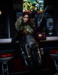 Star Wars Space Pirate OC Anya Keswyck by GothamScarecrow