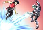 Ranma vs Satoru! An Outta Control Showdown!