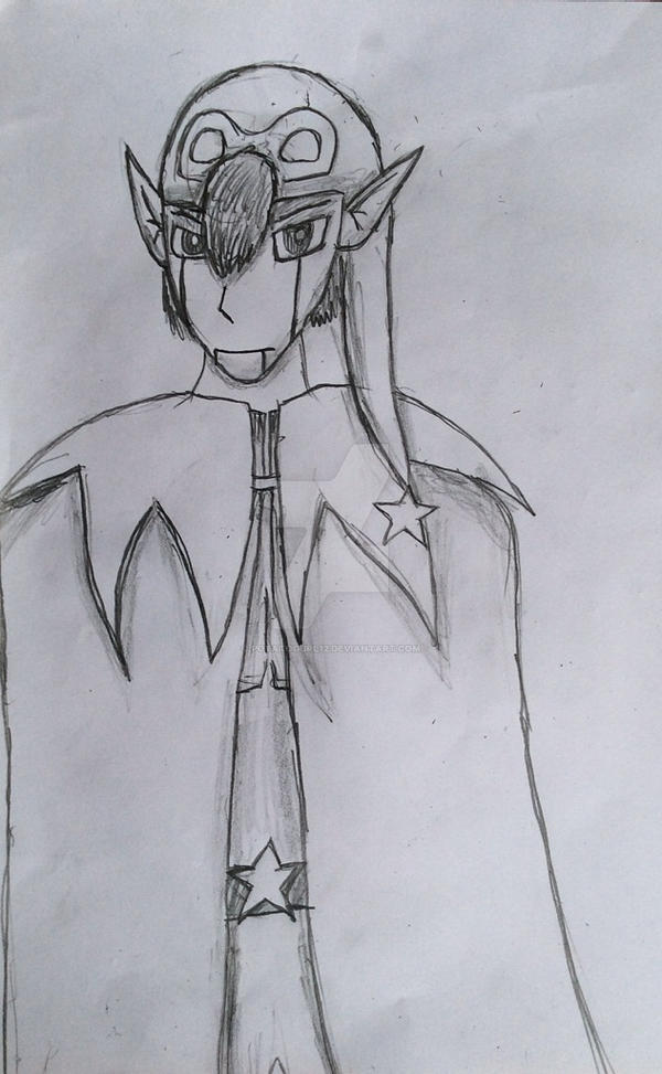 Geno the Star Being Sketch by PotatoGurl12